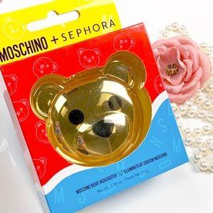 moschino bear highlight LE